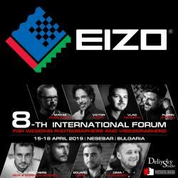Участие на EIZO в 8-ми Международен Форум на Сватбените Фотографи и Видеооператори
