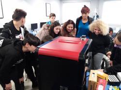 Вали компютърс провежда семинари в училища на тема 3D печат в училище