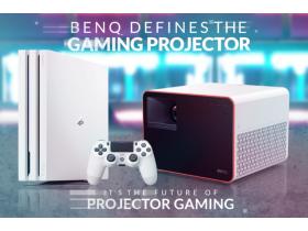 Първият в света 4LED гейминг проектор с кинематографично изживяване - BenQ X1300i