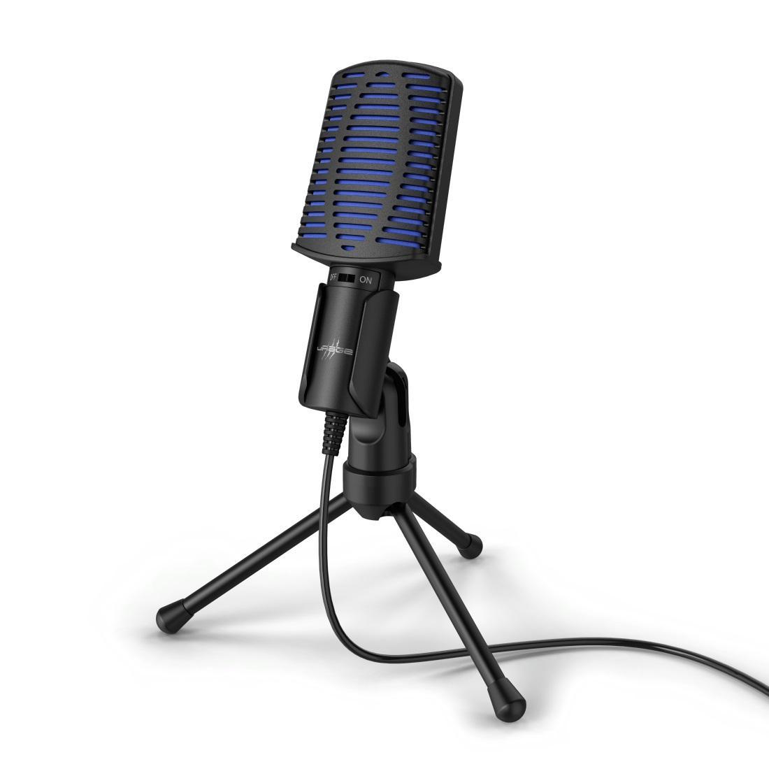 Настолен микрофон uRage Stream 100, USB, Черен
