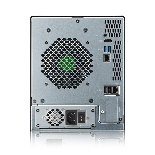 Мрежов сторидж Thecus Soho NAS N5810 за 5 диска до 50TB, Intel Celeron J1900 2.42Ghz Quad Core,4GB DDR3, USB2.0, USB 3.0,HDMI