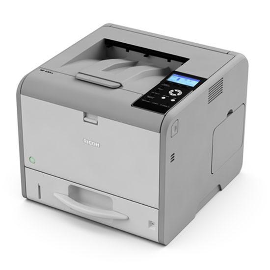 Лазерен принтер RICOH SP450DN, USB, SD, LAN,Wi-Fi, A4, дуплекс, 1200 x 1200 dpi, 40 ppm