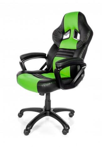Геймърски стол Arozzi Monza, Зелен