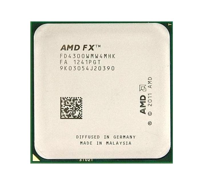 Процесор AMD X4 FX-4300, 3.80GHz, 4MB, 95W, AM3+, Tray, FD4300WMW4MHK