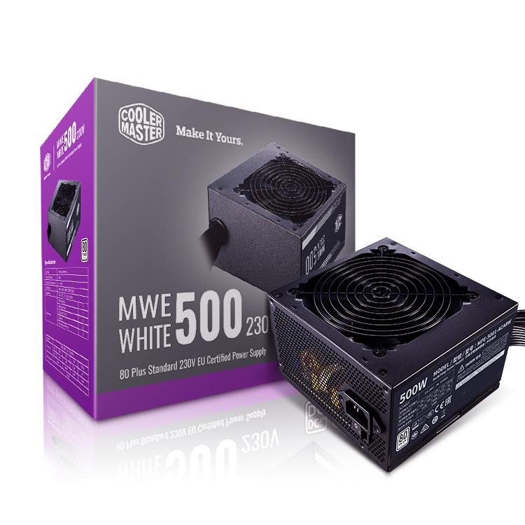 Захранващ блок Cooler Master MWE White 230V V2 500W