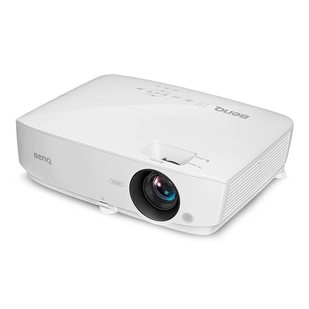 Видеопроектор BenQ TW535,DLP, WXGA, 3600 ANSI, 15 000:1, бял