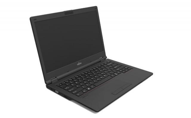 "Лаптоп Fujitsu Lifebook E558, Intel Core i3-7130U, 4Gb, 1TB, 15.6""FHD, Черен"