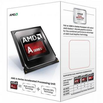Процесор AMD A8-series X4 7600, 3.1Ghz Up to 3.8Ghz, 4Mb, 65W, FM2+, Radeon R7 Series