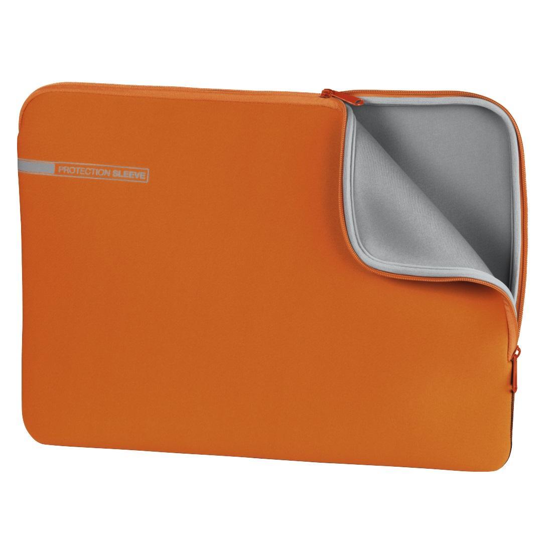 """Калъф за лаптоп HAMA Neoprene, до 34 cm (13.3""""), Оранжев"""