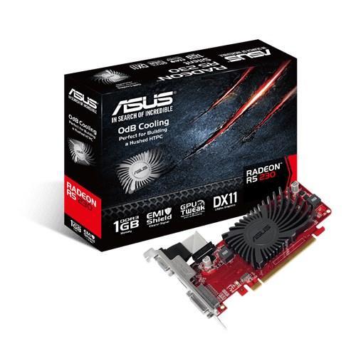 Видео карта ASUS Radeon R5 230 1GB DDR3 LP Silent R5230-SL-1GD3-L