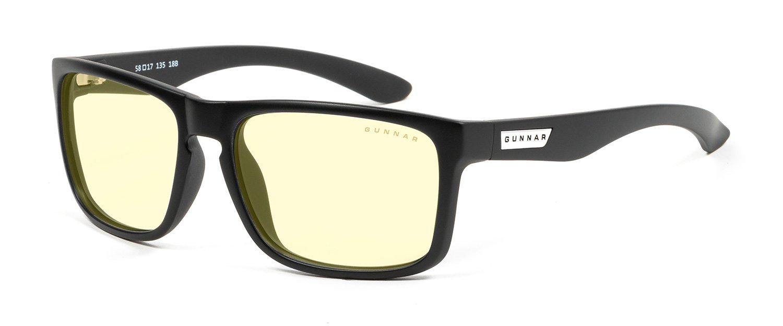 Геймърски очила GUNNAR INTERCEPT Onyx, Amber Natural, Черен