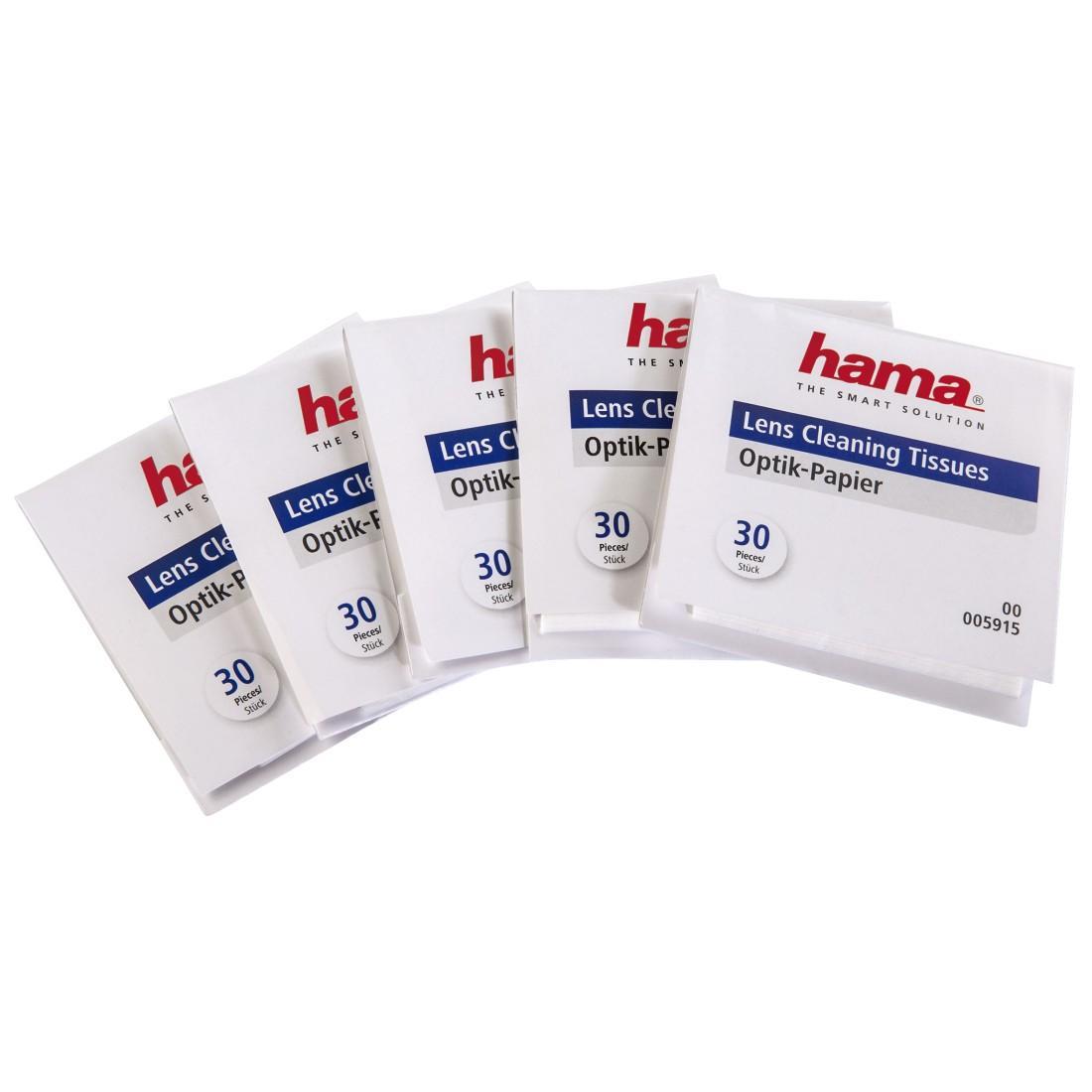 Почистваща кърпичка за обективи HAMA 05915, 150 броя