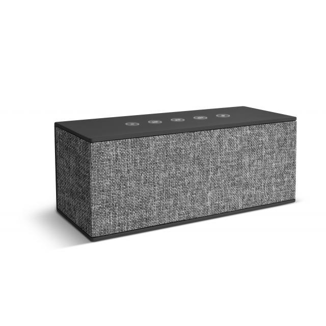 Тонколонка за мобилни устройства Fresh & Rebel Rockbox Brick XL Fabriq Edition, Concrete, Сиво