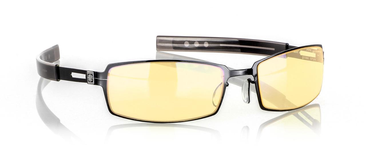 Геймърски очила GUNNAR PPK Gloss Onyx Chrome /Neo/, Amber, Черен