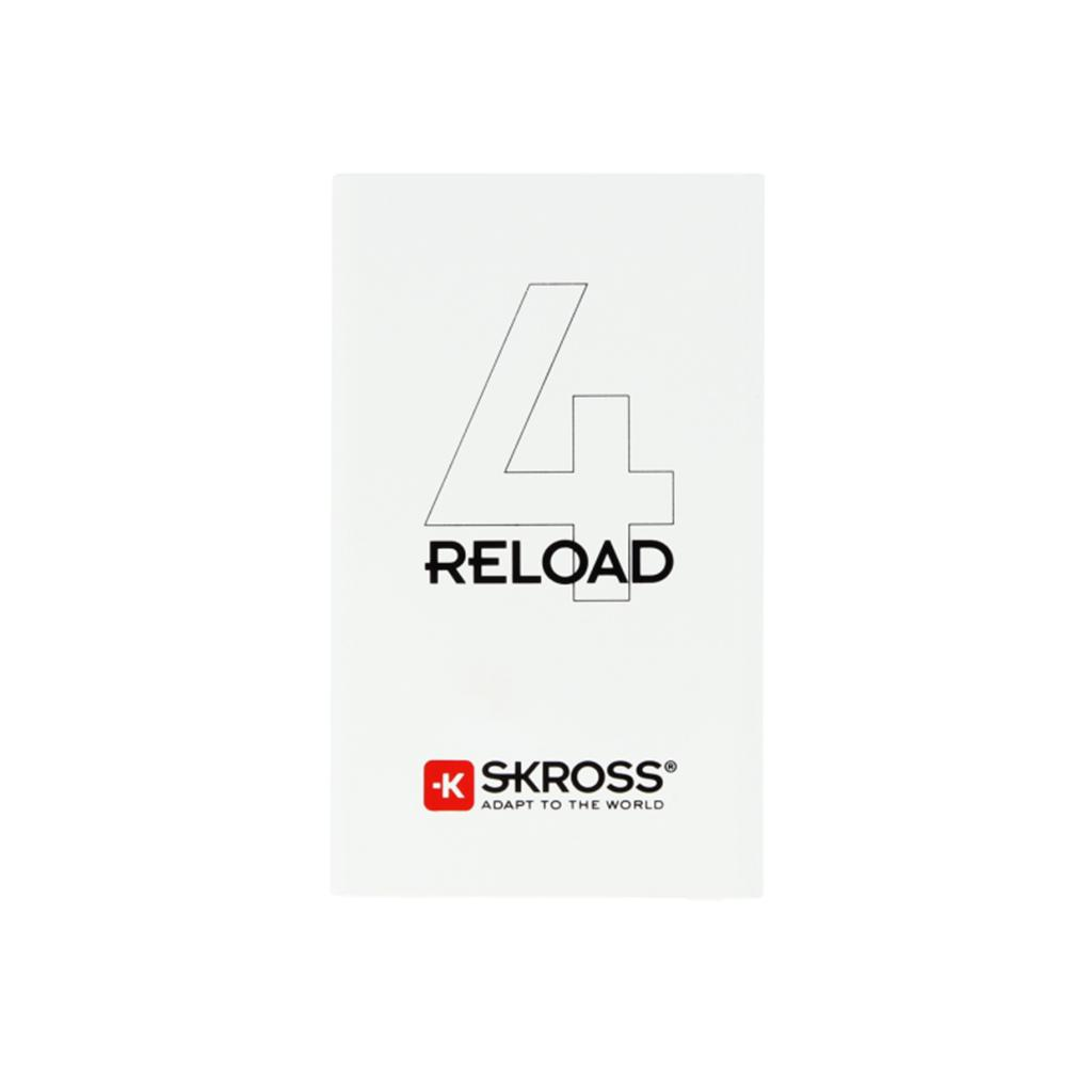 Външна батерия SKROSS RELOAD 4, 4000 mAh, Бял
