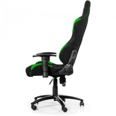 Геймърски стол AKRACING, черно и зелено