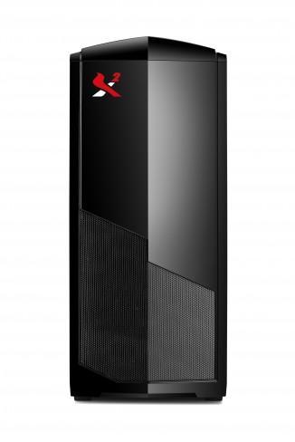 Кутия SPIRE NEXTYDE Gamer X2-602, без захранване, Черна