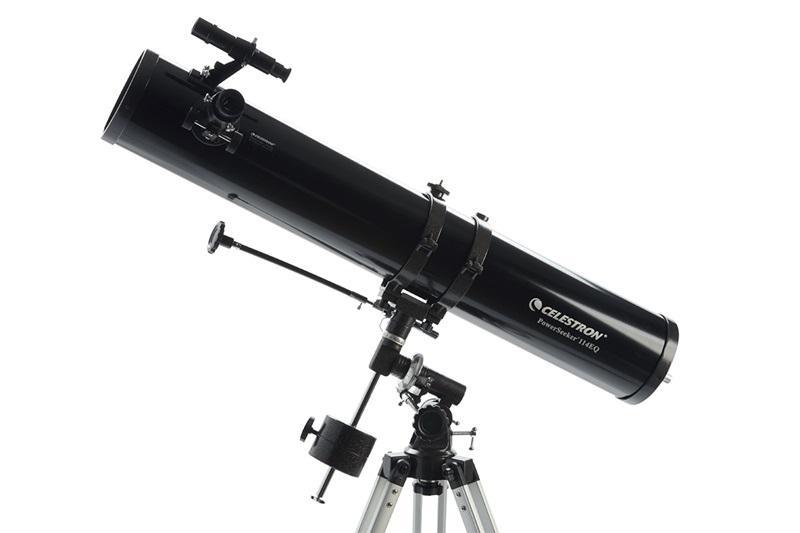 Телескоп Celestron PowerSeeker 114EQ, Нютонов рефлектор