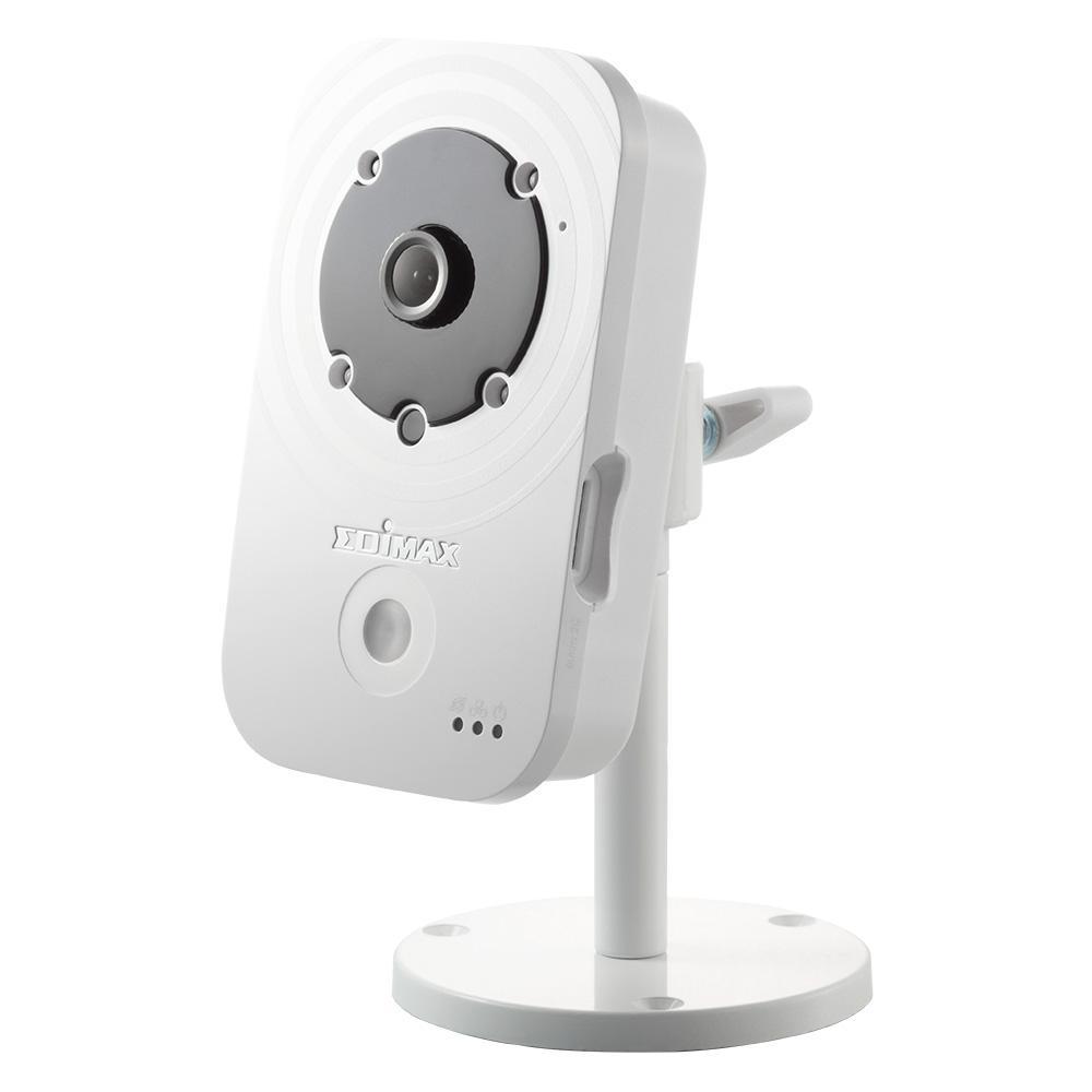 Камера за наблюдение IP EDIMAX IC-3140W, безжична, нощно виждане, слот за карта, двупосочно аудио