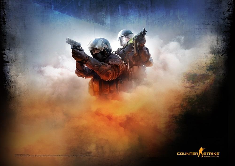 Постер CS:GO Poster Blue , GAYA Entertainment
