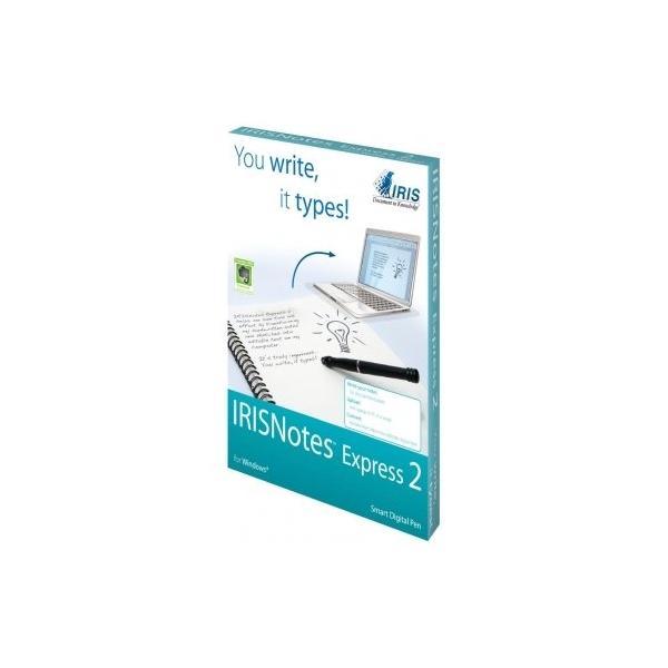 Цифрова писалка и USB приемник IRIS IRISNotes Express 2, съхранява до 100 страници A4/Letter Размер