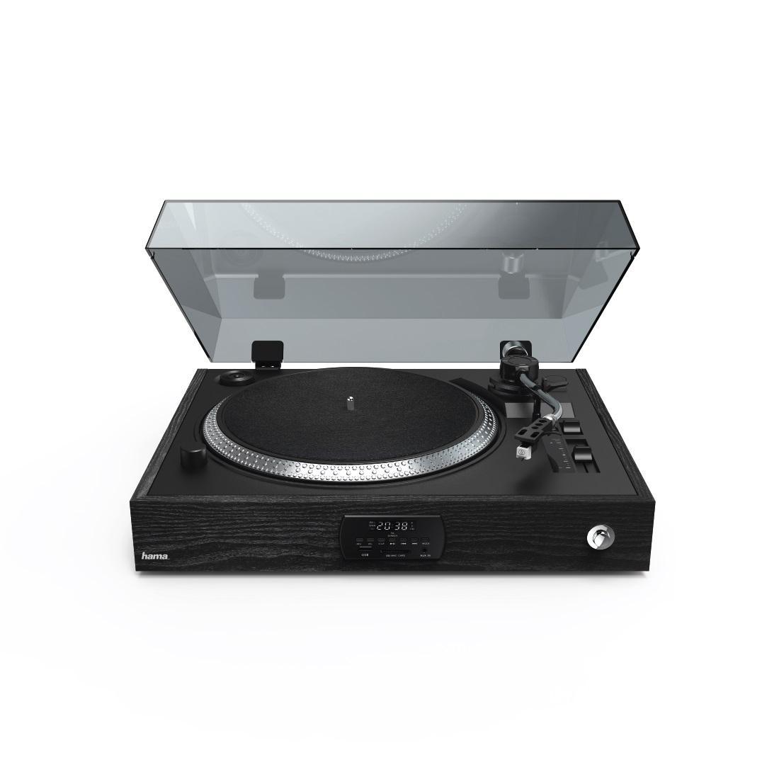 Грамофон HAMA TT3000RBT, LP/USB/SD/FM/BT, запис върху USB/SD