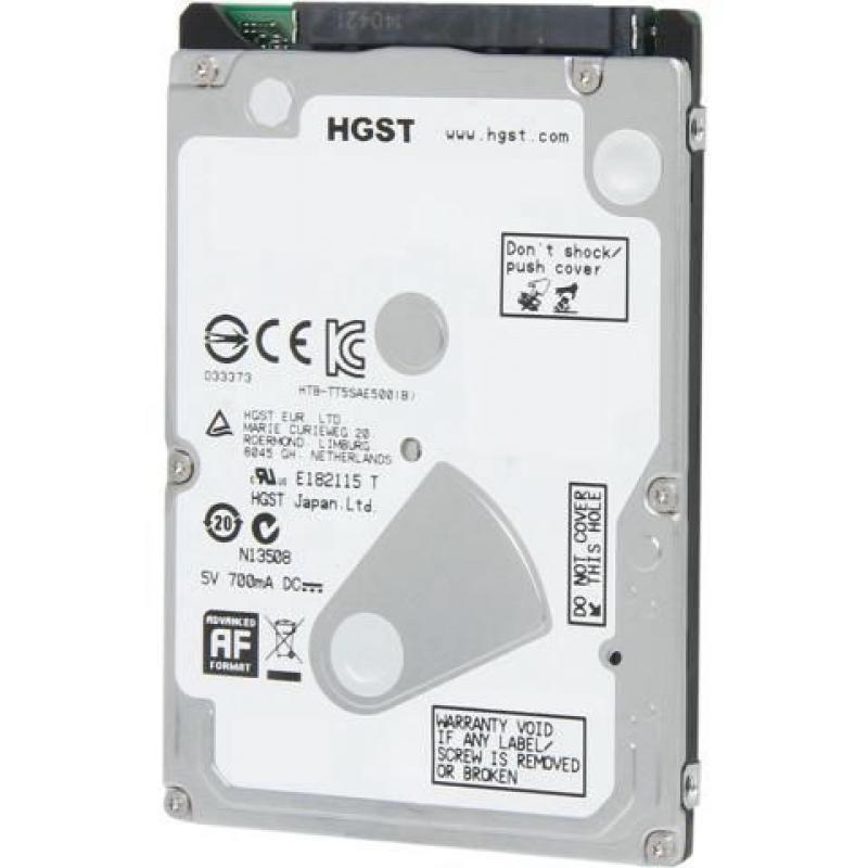 Хард диск за лаптоп HITACHI, 500GB, 5400rpm, 8MB, SATA 6 Gbit/s, 0J38065