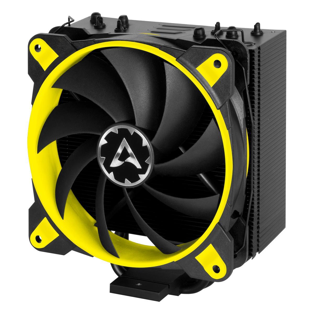 Охладител за процесор Arctic Freezer 33 eSports ONE Yellow, AM4/2066/2011/1156/1155/1150/1151