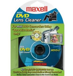 DVD-R Camcorder mini 8 см/ почистващ диск MAXELL /за камери/ blister 1 бр. в PVC case