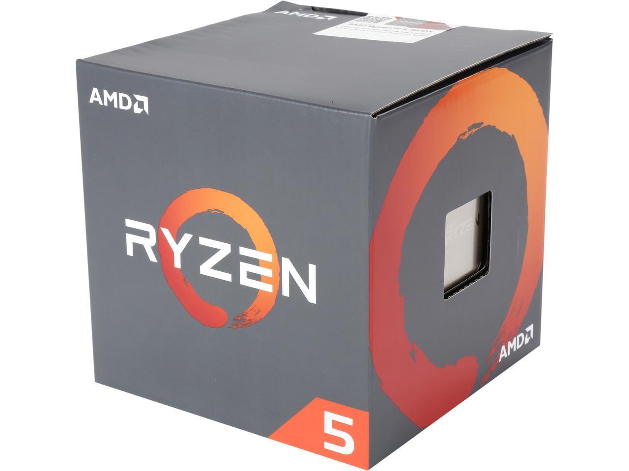 Процесор AMD RYZEN 5 1500X 4-Core 3.5 GHz (3.7 GHz Turbo), 18MB/65W/AM4/FAN