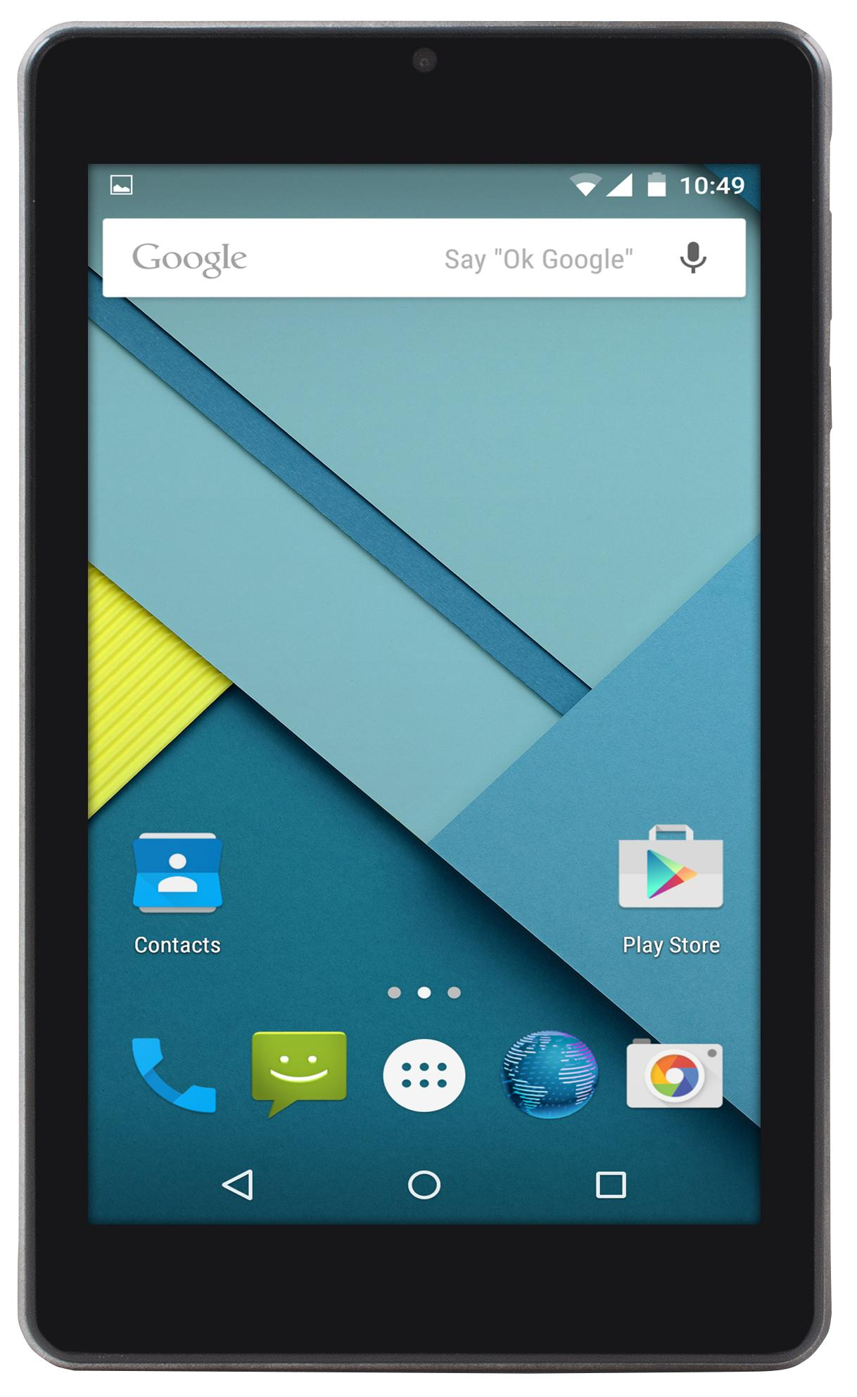 "Таблет Point of View Mobii 748 IPS, Quad Core A33 (до 1.0 GHz), 7"", IPS, 1GB,8GB, Wi-Fi, Android 5.1, Черен"