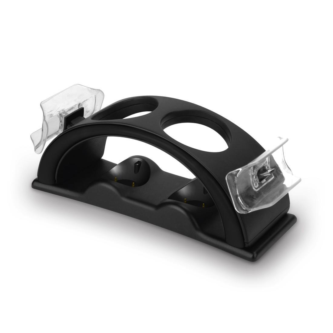 """Зарядна станция HAMA """"Quadruple"""" 115460 за PS4/PS VR, Черен"""