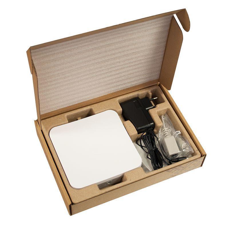 Безжичен Access Point MikroTik RBSXTsq5nD, за открито, 64MB RAM, 1xLAN 10/100, 2.4Ghz 802.11b/g/n, 2x int.antenna 2Dbi, RouterOS