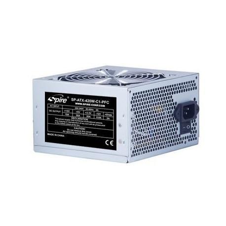 Захранващ блок Spire PSU ATX 420W PFC bulk 120mm fan