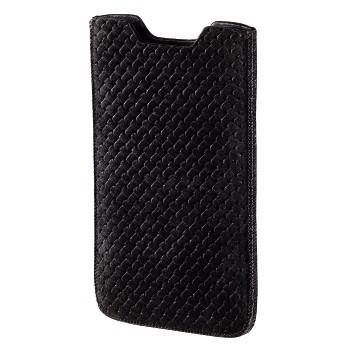 """Калъф за мобилен телефон HAMA """"Criss-Cross"""" 106793, Черен"""