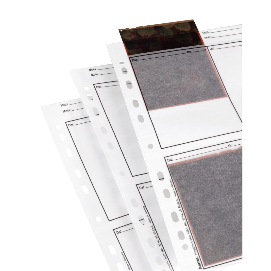 Пликове за 4 негативи/диапозитиви HAMA 02244, 9x12 cm