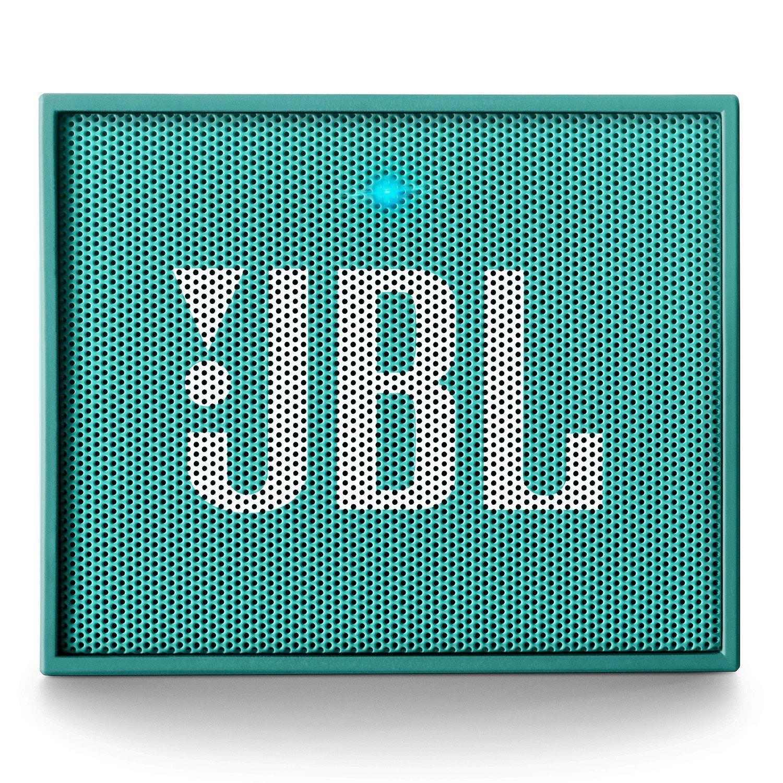 Блутут колонка JBL GO, Светлосин