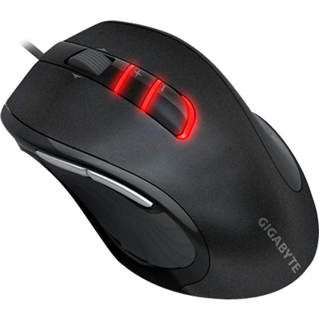 Геймърска мишка Gigabyte, M6900 Black, Оптична, Кабел, USB