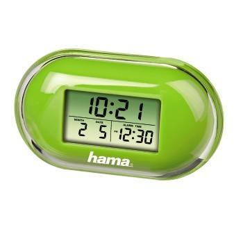"Часовник/будилник ""Fashion"" HAMA 104912, Зелен"