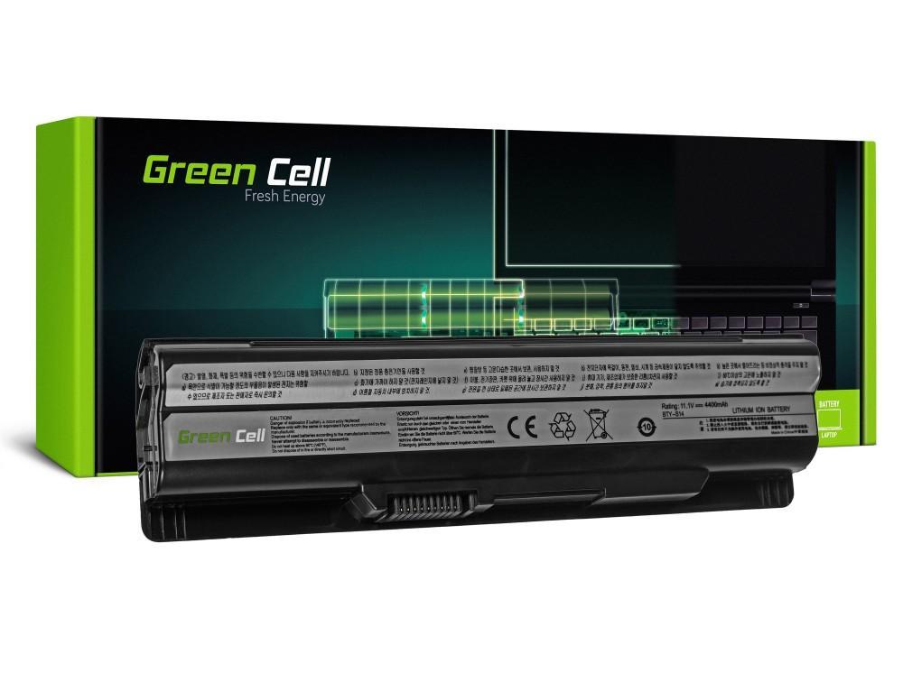 Батерия  за лаптоп MSI BTY-S14 CR650 CX650 FX600 GE60 GE70 11.1V 4400mAh GREEN CELL