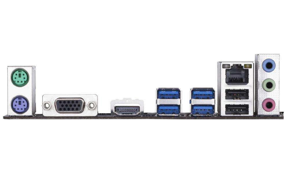Дънна платка GIGABYTE B360M-H, Socket 1151 (300 Series), 2 x DDR4