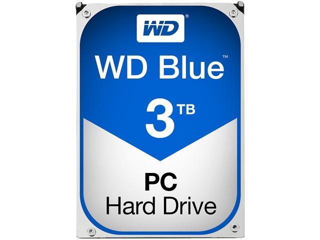 Хард диск WD Blue, 3000 GB, 5400rpm, 64MB, SATA 3