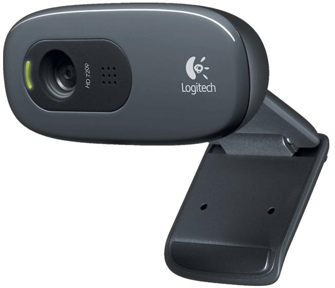 Уеб камера с микрофон LOGITECH C270, 720p, USB2.0