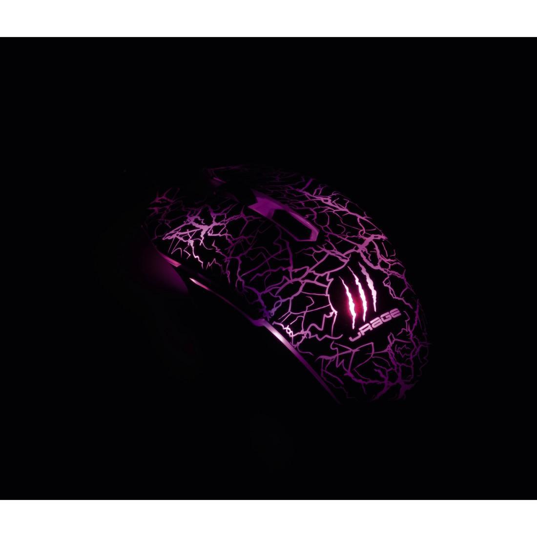 Геймърска мишка Hama, Urage Iluminated, Оптична, Кабел, USB