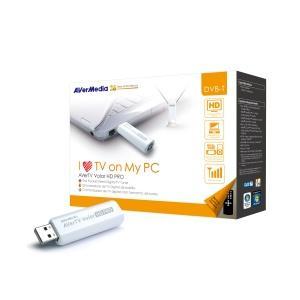 Външен тунер AVerTV Volar HD PRO, FM, USB 2.0, Дистанционно