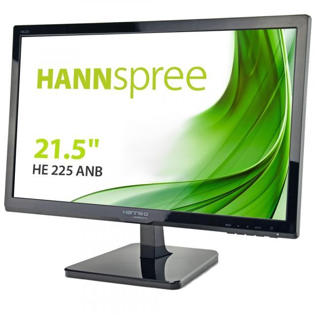 Монитор HANNSPREE HE225ANB, 21.5 inch, Wide, Full HD, D-Sub, Черен