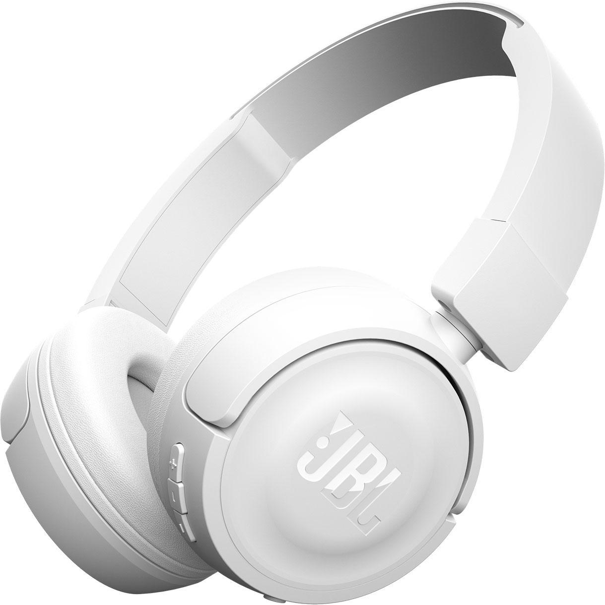 Блутут слушалки JBL T450BT, Бял
