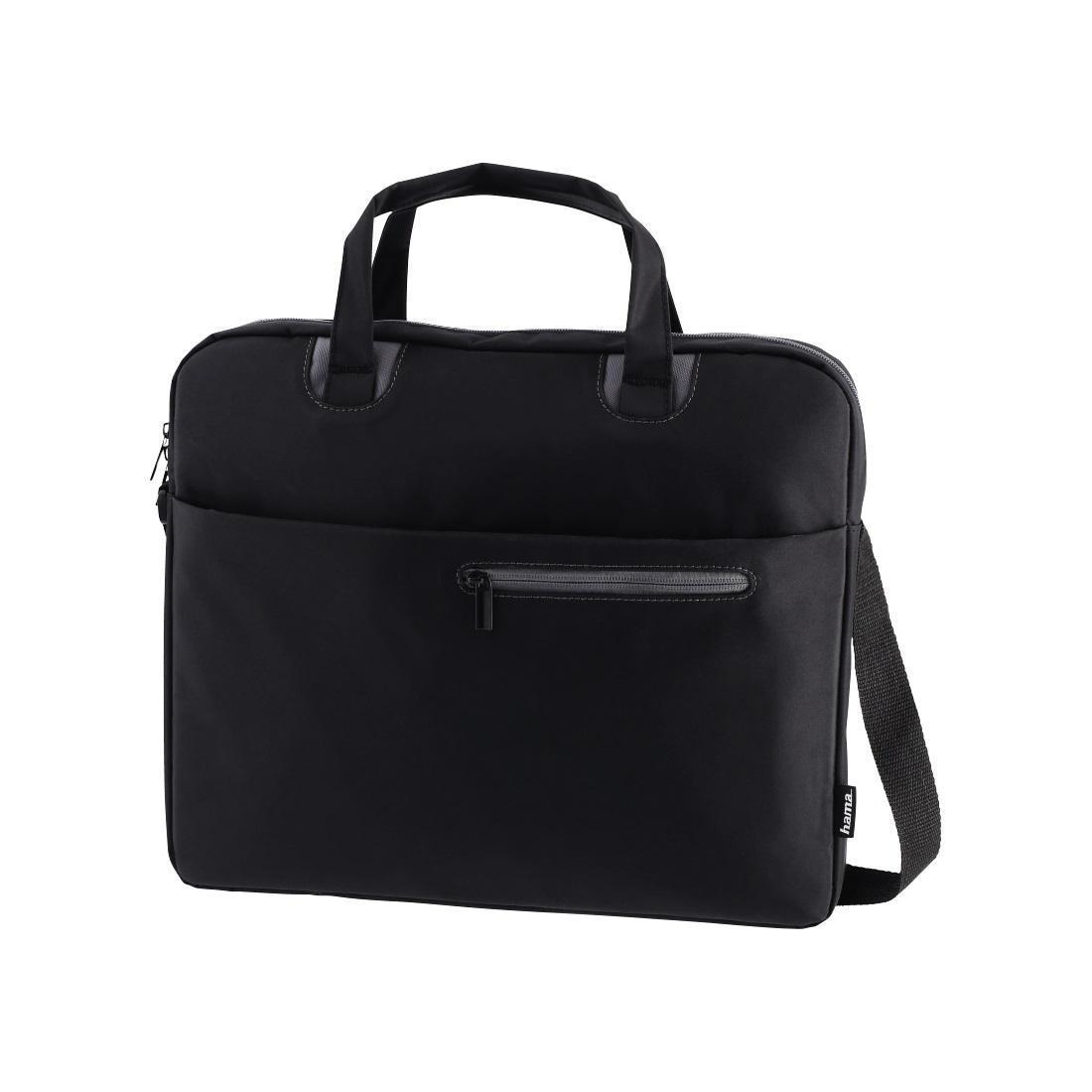 """Чанта за лаптоп HAMA Sydney, до 36 cm (14.1""""), черен/сив"""