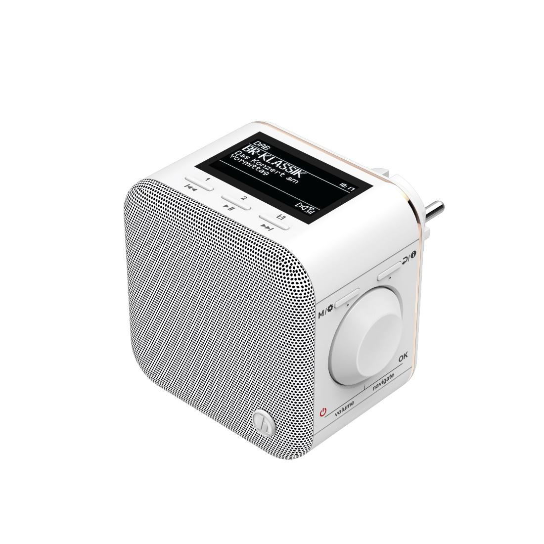 Цифрово радио Hama DR40BT-PlugIn, FM/DAB/DAB+/Bluetooth, Черен