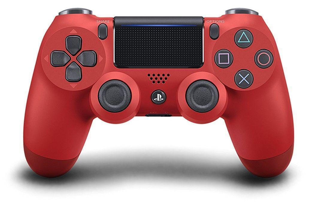 Безжичен геймпад Sony DualShock 4, Magma Red